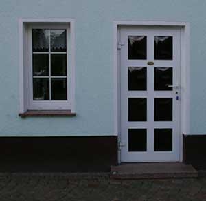 Haustür weiß sprossen  Fenster, Türen, Tore, Wintergärten - Ulrich Bambach in Jessen OT ...